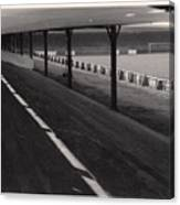 Southport Fc - Haig Avenue - Scarisbrick End 1 - Bw - Early 60s Canvas Print