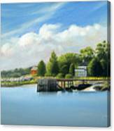 Southport Harbor Canvas Print