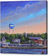 Southport Nc Waterfront Canvas Print