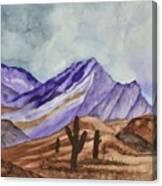 Southwest Landscape IIi Canvas Print