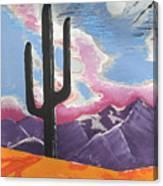Southwest Skies 2 Canvas Print
