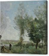Souvenir Of Coubron Canvas Print