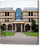 Sovereign Shopping Centre - Entrance From The Garden Canvas Print