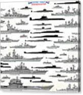 Soviet Navy Canvas Print