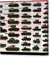 Soviet Tanks ww2 Canvas Print