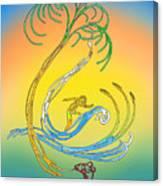 Space Coast Florida Canvas Print