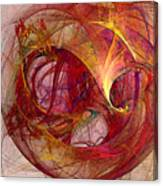 Space Demand Abstract Art Canvas Print