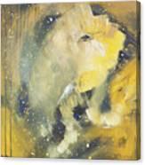 Space Elephant Canvas Print