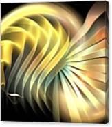 Space Mollusk Canvas Print