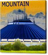Space Mountain Canvas Print