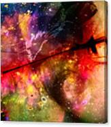 Space Pirate Emerges Canvas Print