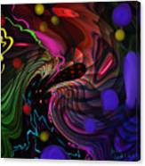Space Rocks Canvas Print