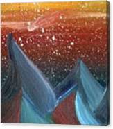 Space Scape Canvas Print