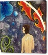 Space Serenity Canvas Print
