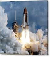 Space Shuttle Launching Canvas Print