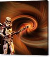 Space Soldier Canvas Print