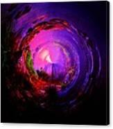 Space Spiral Canvas Print