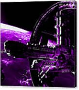 Space Station Canvas Print
