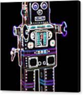 Spaceman Robot Canvas Print