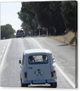 Spain Highway II Towards Seville Canvas Print