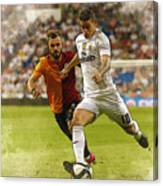 Spain Soccer Bernabeu Trophy Canvas Print
