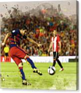 Spain Spanish Super Cup Canvas Print
