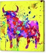 Spanish Bull  Toro Bravo Canvas Print