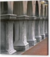 Spanish Columns Canvas Print