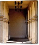 Spanish Corridor Canvas Print