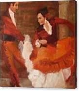 Spanish Dancers Canvas Print