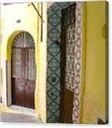 Spanish Doors Canvas Print