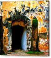 Spanish Fort Doorway Canvas Print