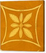 Spanish Gold Rectangle Canvas Print