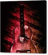 Spanish Guitar Canvas Print