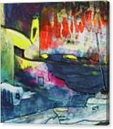 Spanish Harbour 01 Canvas Print