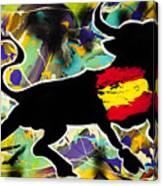 Spanish Heart Canvas Print