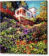 Spanish House Canvas Print