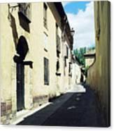 Spanish Narrow Street Canvas Print