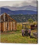 Spanish Peaks Ranch 2 Canvas Print