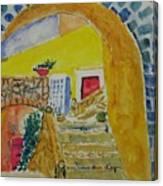 Spanish Stairs Canvas Print