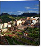 Spanish Terraces Canvas Print