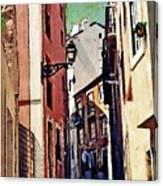 Spanish Town Canvas Print
