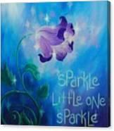 Sparkle, Little One Canvas Print