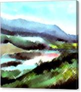 Sparkling Canvas Print