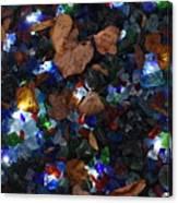 Sparkling Leaves Canvas Print