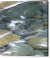 Sparkling Water On Rocky Creek 1 Canvas Print