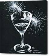 Sparkling Wine  Canvas Print