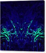 Sparkly Blues In. A Canvas Print