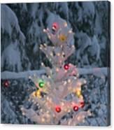 Sparkly Tree Canvas Print