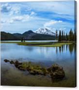 Sparks Lake, Oregon Canvas Print